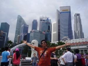 I & Merlion - Singapore